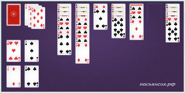 Косынка играть по три карты онлайн бесплатно